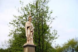 Poświęcenie figury św. Floriana