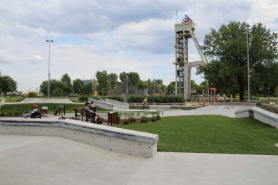 Nowy skatepark powstał pod szybem Prezydent