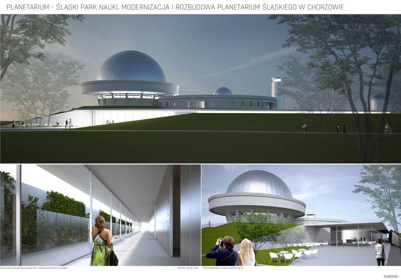Planetarium Śląskie zmieni wygląd