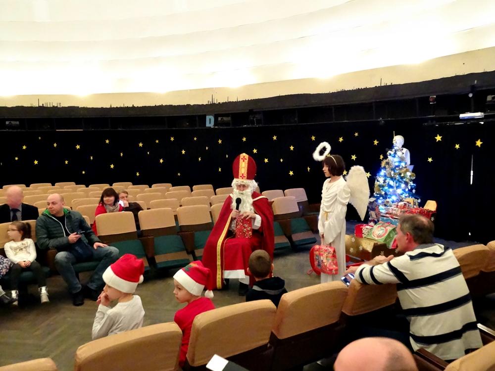 Mikołaj odwiedził Planetarium Śląskie