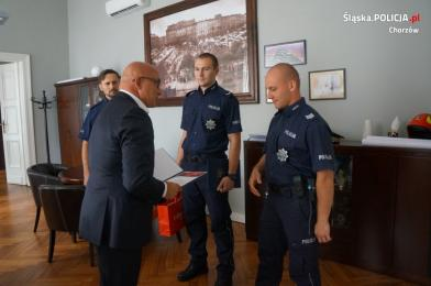 Prezydent wyróżnił policjantów