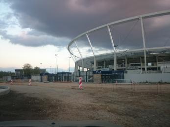 Modernizacja na Alei Harcerskiej przy Stadionie Śląskim potrwa do końca miesiąca