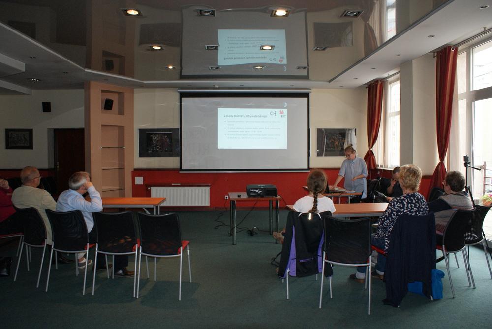 W Chorzowskim Centrum Kultury rozmawiano o budżecie obywatelskim