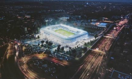 Nowy stadion Ruchu coraz bliżej