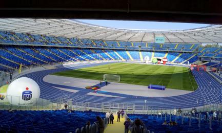 Stadion Śląski już otwarty