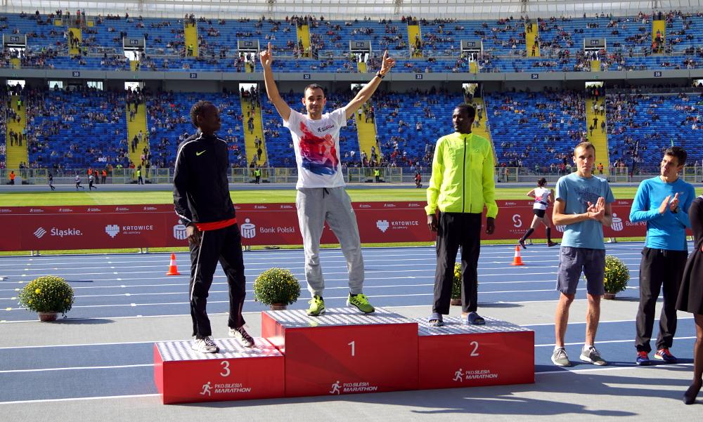 Mieszkaniec Olsztyna wygrał PKO Silesia Marathon