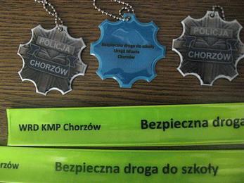 Chorzowscy policjanci rozdadzą odblaski wiernym