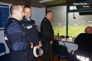 Policjant z Niemiec na praktykach w Chorzowie