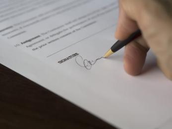 Podpisanie aktu- Chorzowska Koalicja na Rzecz Bezpieczeństwa