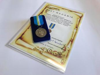 Chorzów nagrodzony medalem