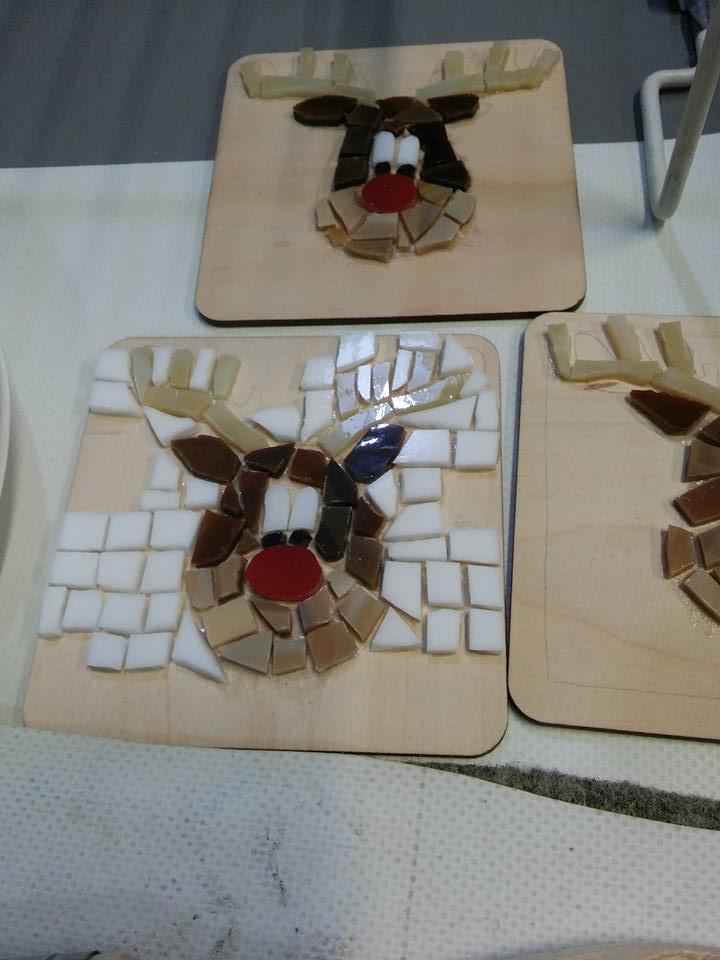 Warsztaty tworzenia mozaikowych podkładek