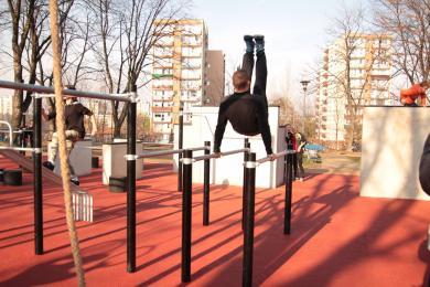 Nowoczesny street workout park już otwarty!