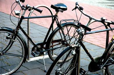 Kontraruch rowerowy na dwóch ulicach