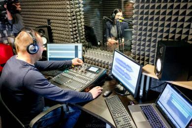 Gotowi? Nagrywamy! Studio nagrań w ChCK rozpoczęło działalność!