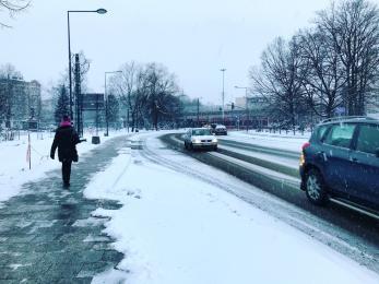Uwaga - jest ślisko! Czy miasto jest przygotowane na zimę?