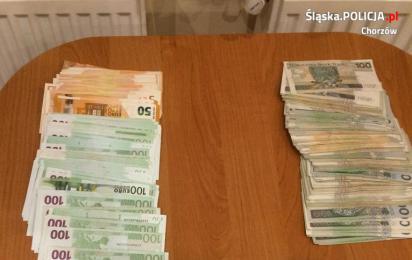 Oszukał 86 - letnią mieszkankę Chorzowa. Fałszywy wnuczek w rękach policjantów