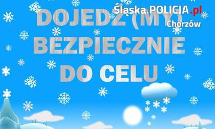 Dojedź(MY) bezpiecznie do celu. Policjanci dbają o bezpieczeństwo w ferie zimowe