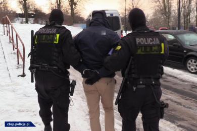 Zatrzymania pseudokibiców z zorganizowanej grupy przestępczej w Chorzowie