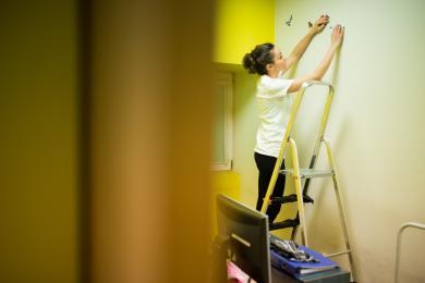 Tauron pomalował szpitalne sale w Zespole Szpitali Miejskich