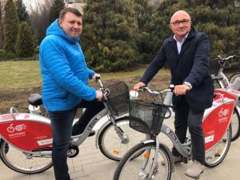 Rozpoczął się pierwszy pełnowymiarowy sezon KajTeroz. 460 rowerów już czeka!
