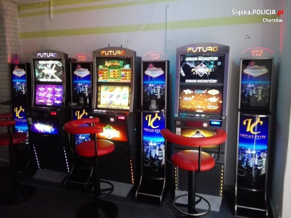 Chorzowscy policjanci i funkcjonariusze KAS zlikwidowali nielegalny salon gier