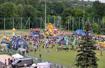 Blisko 10 tysięcy ludzi bawiło się na chorzowskim Dniu Dziecka
