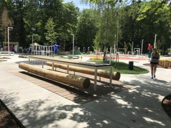 Strefa aktywności w kampusie Uniwersytetu Śląskiego