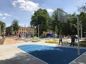 W kampusie Uniwersytetu Śląskiego w Chorzowie otwarto strefę aktywności