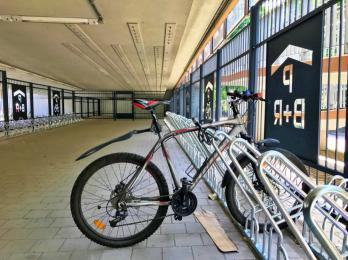 Bike & Ride w Chorzowie. Powstał parking na blisko 100 rowerów