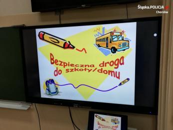 Nie bój się błyszczeć, czyli bezpieczna droga do szkoły