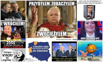 Internauci komentują wyniki wyborów parlamentarnych! Zobaczcie najśmieszniejsze MEMY