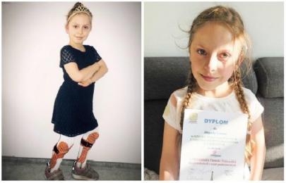 Prezydent Świętochłowic apeluje o pomoc dla 9-letniej mieszkanki Chorzowa - Jagody Labus