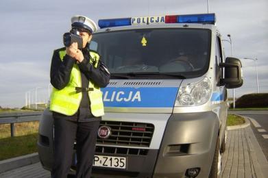 Mierniki prędkości są użytkowane przez Policję zgodnie z obowiązującymi przepisami