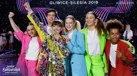 Viki Gabor zwyciężyła w odbywającym się w Gliwicach konkursie piosenki Eurowizja Junior