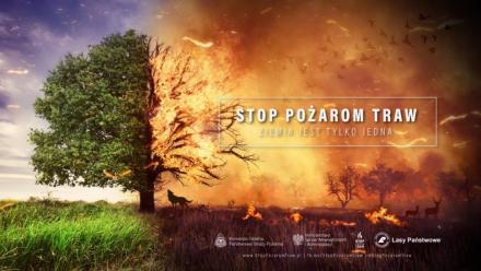 Wypalanie traw - nielegalne i niebezpieczne