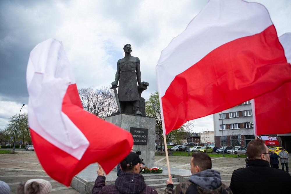 Chorzowianie uczcili 230. rocznicę uchwalenia Konstytucji 3 Maja