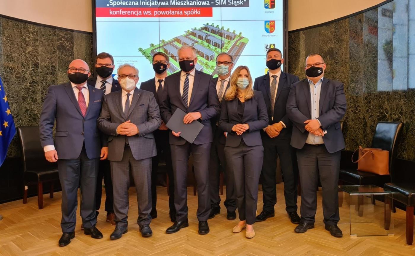 Półtora tysiąca nowych mieszkań na Śląsku! W Chorzowie podpisano akt notarialny spółki SIM