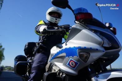 """""""Bezpieczny motocyklista"""". Chorzowska drogówka podsumowała działania"""