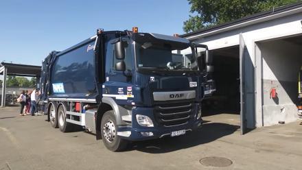 Nowa dwukomorowa śmieciarka wyruszy w trasę po Chorzowie