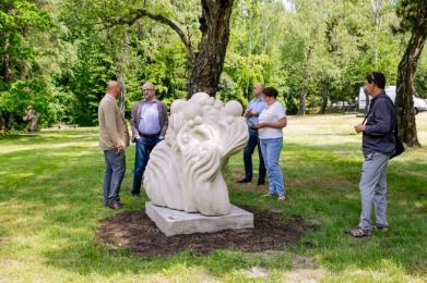 Kolejne rzeźby w Parku Śląskim odnowione!