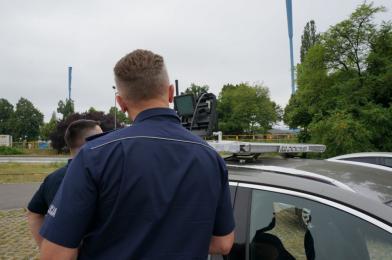 Chorzowscy policjanci kontrolowali drony