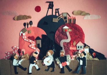 Rube Świnie - koncert zespołu folkowego z potańcówką w Ogrodowej Strefie Kultury