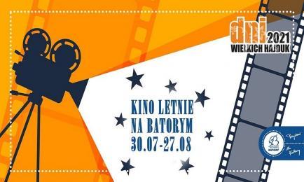 Już w przyszły piątek rusza Kino Letnie na Batorym!