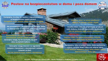 Postaw na bezpieczeństwo w domu i poza domem