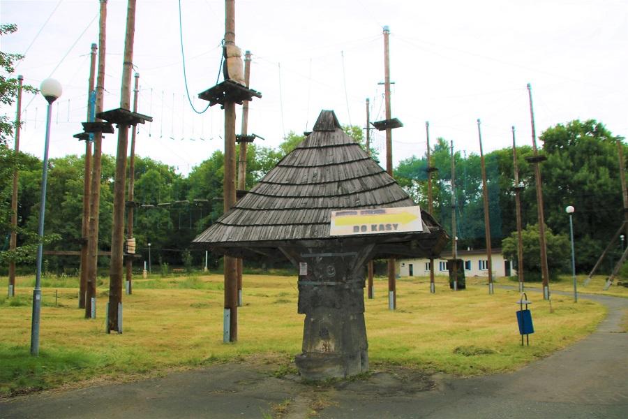 Chorzów: Park Linowy w Parku Śląskim czeka na nowego dzierżawcę. Konieczny będzie remont