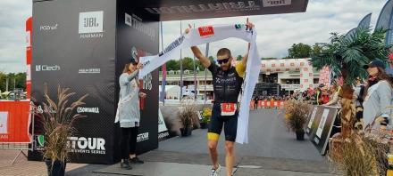Tomasz Brembor z Chorzowa Mistrzem Polski w triathlonie