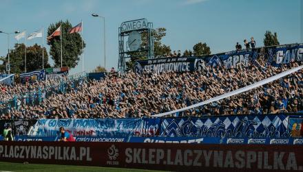 Rekordowa frekwencja na ostatnim meczu Ruchu Chorzów. Kibice mają dość starego stadionu