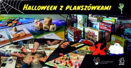 Halloween z planszówkami!