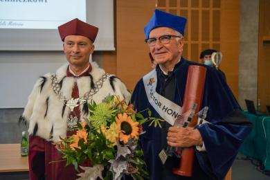 Antoni Piechniczek doktorem honoris causa katowickiego AWFu